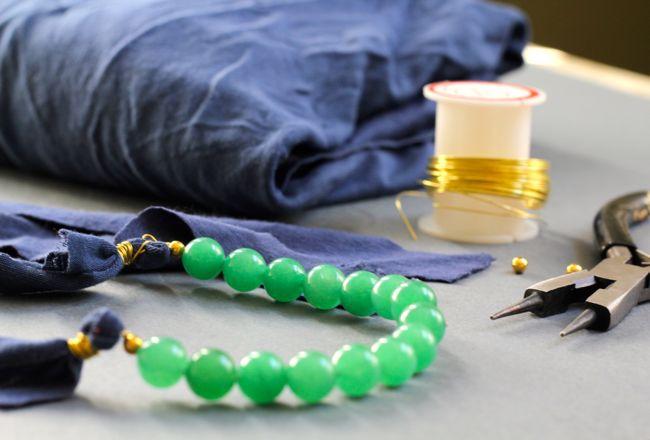 Aprenda fazer um lindo colar versátil