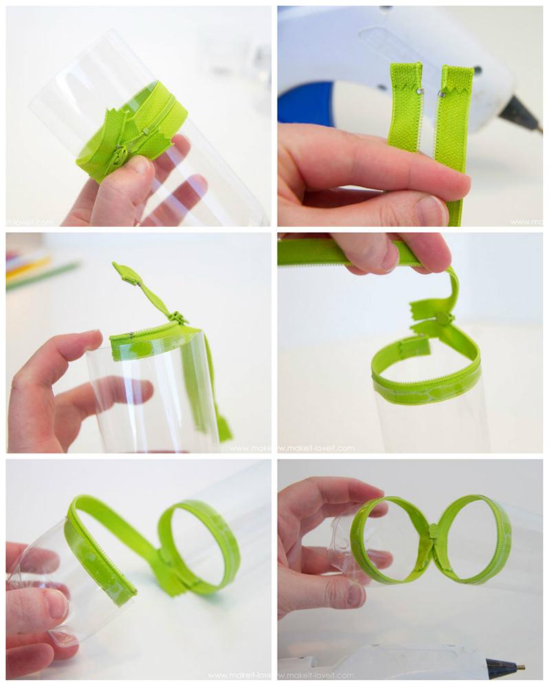 Como fazer estojo de garrafa PET - Blog Como faz artesanato