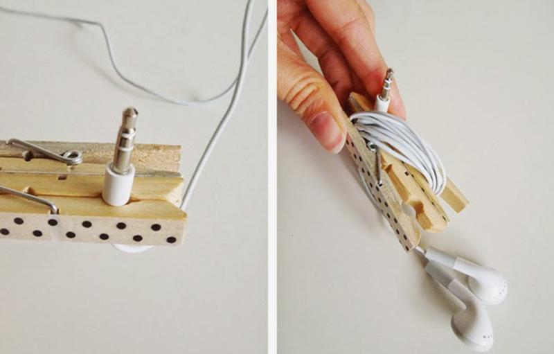 Como fazer porta fones de ouvido de pregador - Blog Como faz artesanato