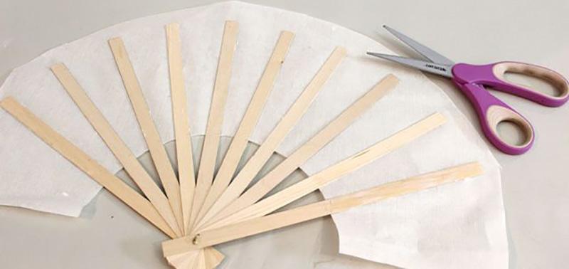 Artesanato Argila Branca ~ LEQUE JAPON u00caS Como Faz Artesanato