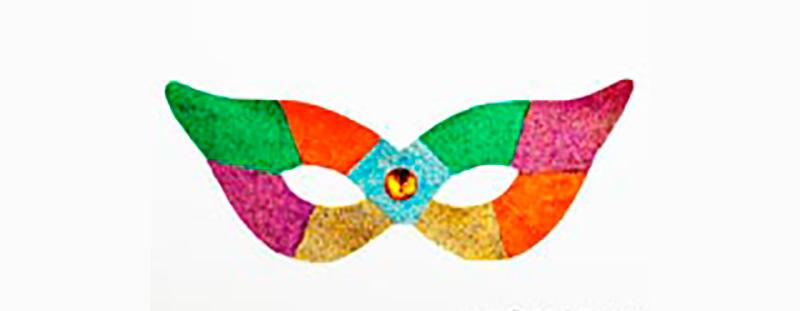 máscara-de-Carnaval