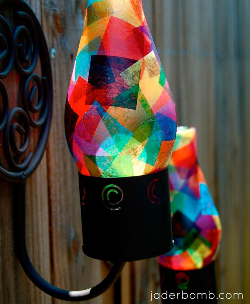 luminária-colorida